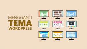 memasang tema wordpress