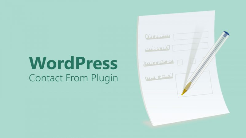 Plugin Contact Form Terbaik